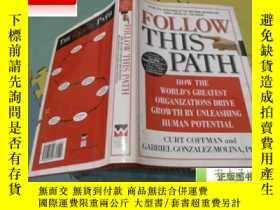 二手書博民逛書店英文原版《由此罕見踏上成功之路》 Follow this Pat