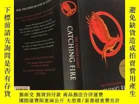 二手書博民逛書店The罕見Hunger Games: Catching Fire 饑餓遊戲:生火,Y200392