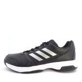 Adidas Adizero Attack [BA9083] 男鞋 網球 休閒 黑 銀 愛迪達