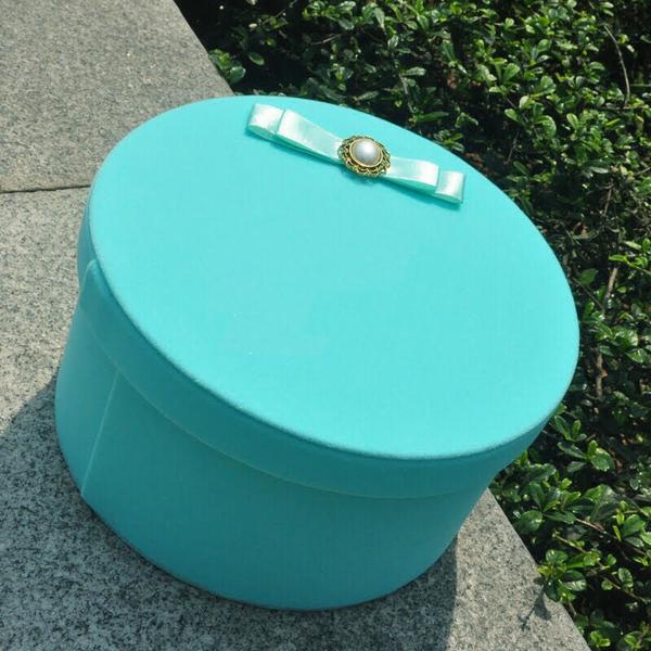 永生花圓形禮盒專用花泥,直徑18厚度3.5公分 (不含禮盒)