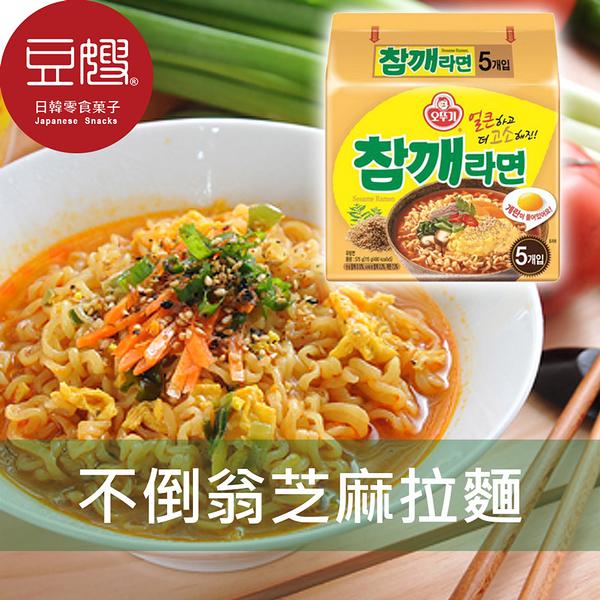 【豆嫂】韓國泡麵 OTTOGI 不倒翁芝麻拉麵(4包/袋)