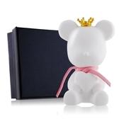 O'Pretty 歐沛媞 室內/車用 香氛擴香石掛飾-粉色彩繩皇冠抱心熊