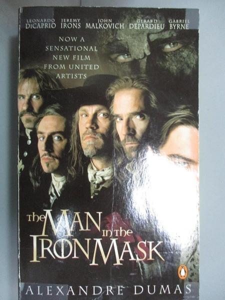 【書寶二手書T9/原文小說_LPO】The Man in the Iron Mask_Alexandre Dumas