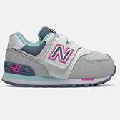 New Balance 灰白綠粉四色系運動慢跑童鞋-NO.IV574NLH