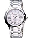 Ogival 愛其華 經典時尚機械腕錶-銀 3832AMS銀