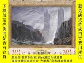 二手書博民逛書店Tolkien罕見Calendar 2002Y255562 Ted Nasmith Harpercollins