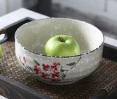 日式可愛多功能家用大號陶瓷面條泡面拉面碗XH1359『伊人雅舍』
