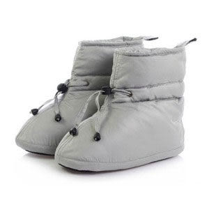 【a-liFe】高筒羽絨鞋(長款/灰)