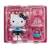Sanrio 換裝娃娃組 擺飾玩偶 公仔 HELLO KITTY 愛麗絲裝 粉