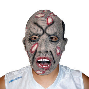 千奇坊萬聖節面具 傷疤爛臉面具142g