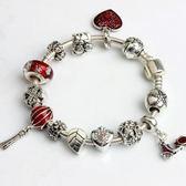 DIY串珠手鍊飾品 大孔合金珠手鍊滴油珠 女款《印象精品》yq203