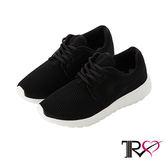 【TRS】韓國TRS空氣增高鞋內增高7公分休閒鞋-經典黑(7100-0022)
