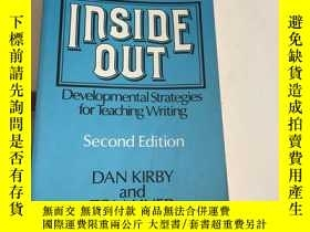 二手書博民逛書店INSIDE罕見OUT:Developmental Strategies for Teaching Writing