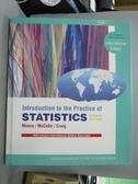 【書寶二手書T1/大學商學_WFQ】Introduction to the Practice of Statistics_David