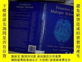 二手書博民逛書店Frontiers罕見in Multiple Sclerosin