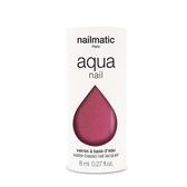 法國 Nailmatic 水系列經典指甲油-Camelia 珍珠紫紅-8ml