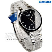 CASIO MTP-1274D-1A 經典簡約三針不銹鋼腕錶 不鏽鋼 日常防水 黑 男錶 中性錶 卡西歐 MTP-1274D-1ADF