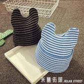 兒童帽 兒童毛線帽秋冬針織帽寶寶帽子1-2歲男女嬰兒帽子3-6-12個月護耳 米蘭街頭