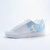 DC COURT GRAFFIK 休閒鞋 滑板鞋 女款 300678WBJ 白X淺藍【iSport愛運動】