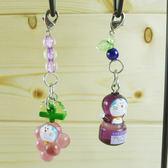 【震撼精品百貨】Doraemon_哆啦A夢~手機吊飾-輕井澤/葡萄【共2款】