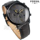 原廠公司貨 保固二年 全新現貨 真皮錶帶 計時碼表 簡約時標 IP黑電鍍 個性 防水錶 男錶 學生錶