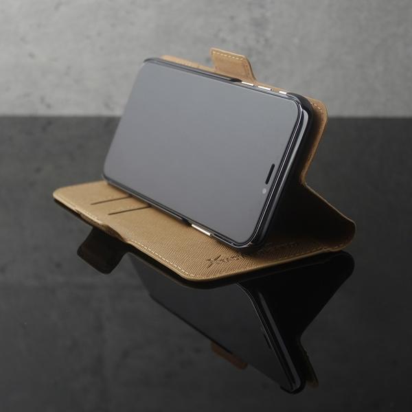 Moxie X-Shell 360° iPhone XS / X 摩新360度旋轉iPhone XS / X 防電磁波手機套 皮套 黑色/駝色