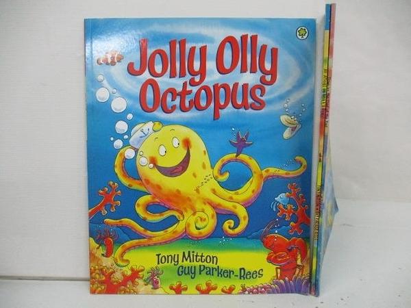 【書寶二手書T4/少年童書_DYL】Jolly olly Octopus_All Afloat on Noah s Boat等_3本合售