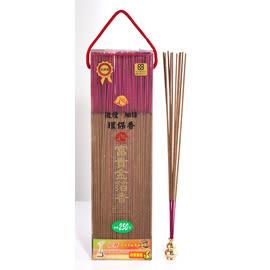 【如意檀香】【富貴金箔香】線香 立香 尺3 1斤盒裝 = 添加天然金箔 = 越燒越旺