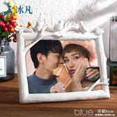 相框擺台創意七寸7 5 6六 8寸個性韓版照片框相片框兒童畫框相架 深藏blue