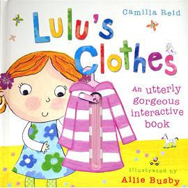 【麥克書店】『快樂讀出英語力』LULU'S CLOTHES  /趣味操作書