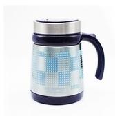 【藍色】酷寶保溫杯男女士辦公室商務不銹鋼過濾茶杯