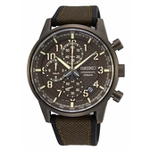 【分期0利率】SEIKO 精工錶 三眼計時錶 8T67-00M0B 38mm 原廠公司貨 SSB371P1