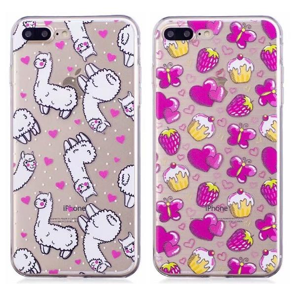 蘋果 iPhoneX iPhone8 Plus iPhone7 Plus iPhone6s Plus HC彩繪軟殼 手機殼 保護殼 全包邊 彩繪 軟殼