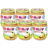 HiPP 喜寶 生機蘋果西洋梨泥125g(6罐)[衛立兒生活館]