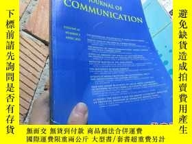 二手書博民逛書店journal罕見of communication volume