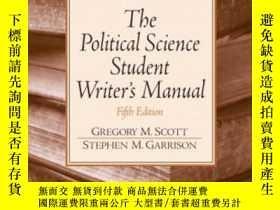 二手書博民逛書店Political罕見Science Student Writer s ManualY364682 Grego