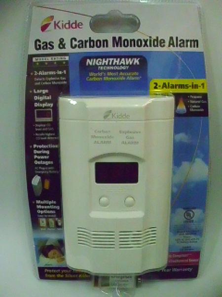 消防器材批發中心 Kidde COEG-3一氧化碳+瓦斯偵測警報器二合一型偵測器
