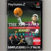【PS2原版片 可刷卡】☆ 街頭籃球 3對3 3on3 ☆純日版全新品【出清特賣會】台中星光電玩