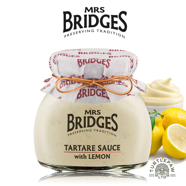 【MRS. BRIDGES】英橋夫人檸檬塔塔醬(180公克) 交換禮物首選