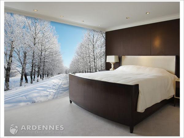 【ARDENNES】防水壁貼 壁紙 牆貼 / 霧面 亮面 / 雪景系列 NO.H001
