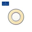 德國Villeroy&Boch-奧頓系列-17cm圓盤-Fleur黃邊花環