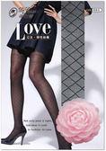 【蒂巴蕾】LOVE 公主 網格 彈性 絲襪 褲襪 #FP6214