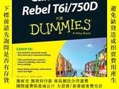 二手書博民逛書店Canon罕見EOS Rebel T6i   750D For DummiesY410016 Julie Ad