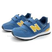 《7+1童鞋》New Balance PO313BY 日本開發系列313 輕量防滑 運動 慢跑鞋 9542 藍色
