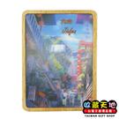 【收藏天地】台灣紀念品*木頭3D立體風景冰箱貼- 九份