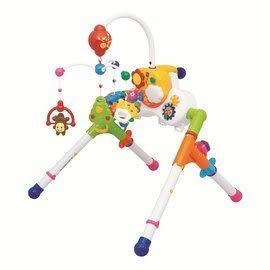 『121婦嬰用品館』樂雅 五用床邊音樂鈴健力架組
