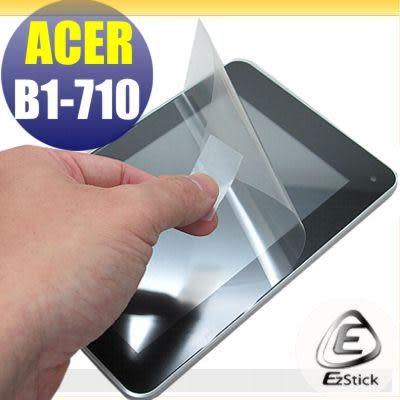 【EZstick】ACER Iconia B1-711 B1-710 專用 靜電式平板LCD液晶螢幕貼 (可選鏡面防汙及高清霧面)