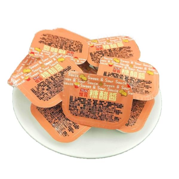 雞塊沾醬憶霖酸甜醬 糖醋醬 全素食可 (20克*20盒)【歐必買】