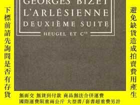 二手書博民逛書店32開法文版:《阿萊城的姑娘罕見第二組曲(L arlesienne Deuxième suite)》Y2246