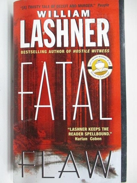 【書寶二手書T1/原文小說_A2Y】Fatal Flaw_William Lashner